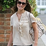 Pippa Middleton Logs a Day at Her London Office