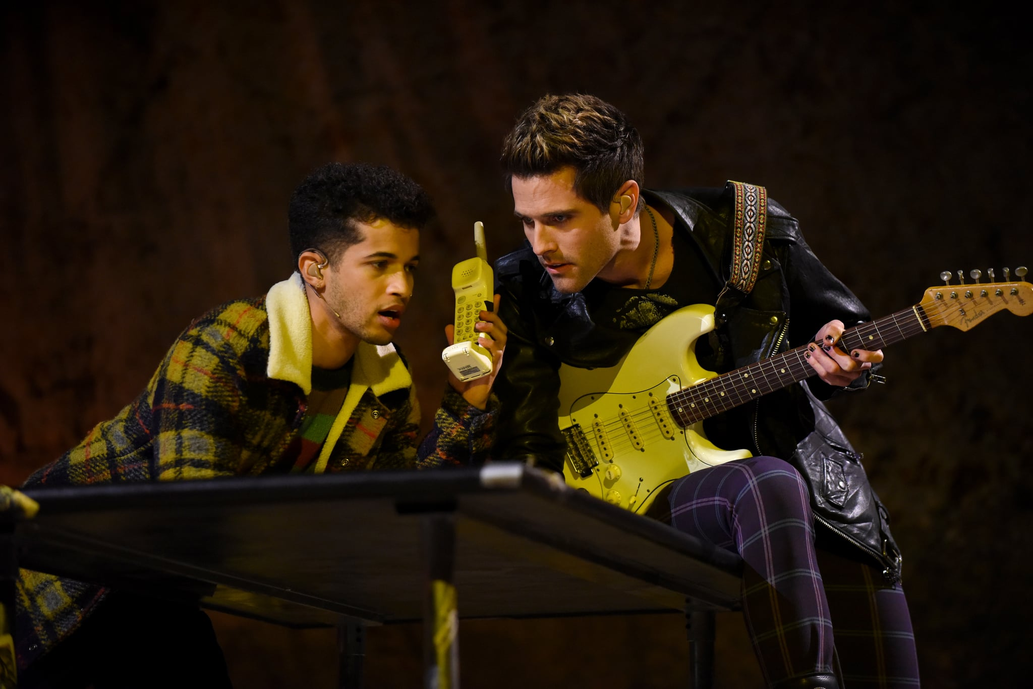 RENT: L-R: Jordan Fisher and Brennin Hunt  in RENT airing Sunday, Jan. 27 (8:00-11:00 PM ET LIVE/PT TAPE-DELAYED) on FOX. ©2019 Fox Broadcasting Co. CR: Ray Mickshaw/FOX