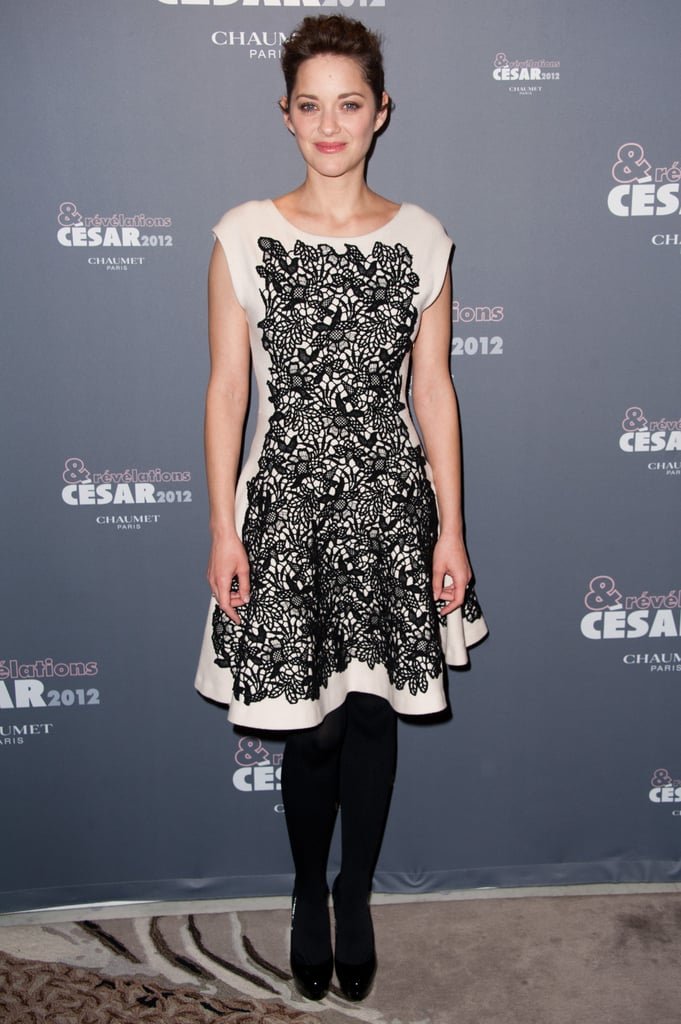 Marion Cotillard attended a cocktail party in Paris on Jan. 16.