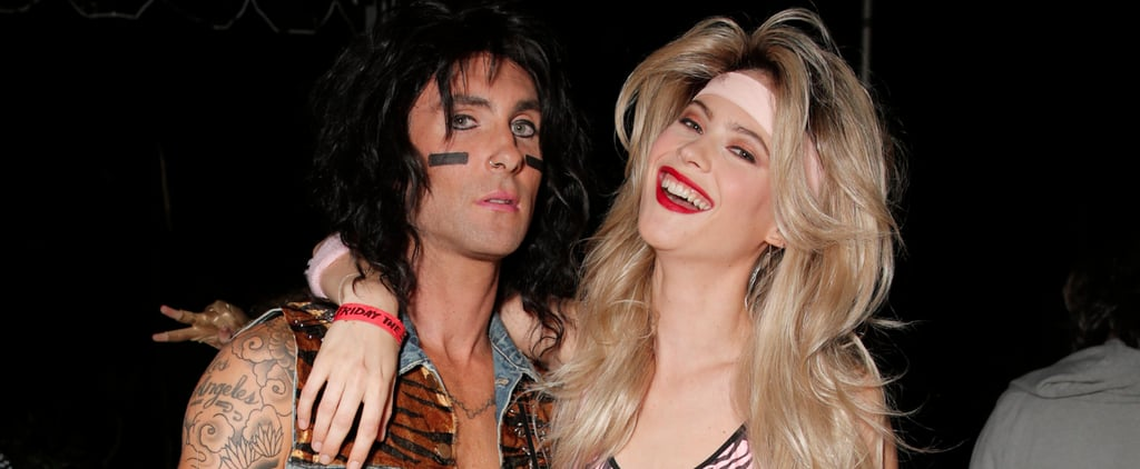 Adam and Behati Bring the '80s Back at Maroon 5's Smashing Halloween Bash