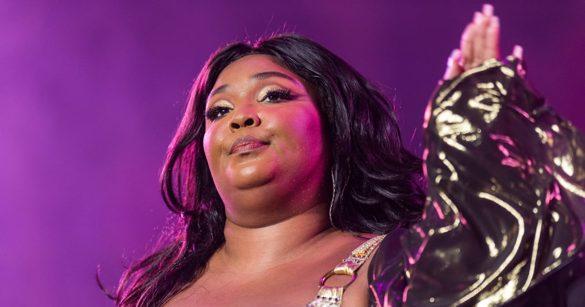 Lizzo's Stained-Glass Nails Are So Good, They Border on Legendary