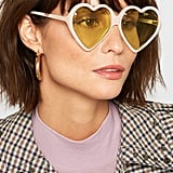 Gucci Heart-Shaped Acetate Sunglasses