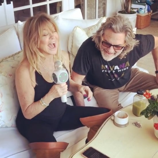Goldie Hawn and Kurt Russell Karaoke Instagram January 2019