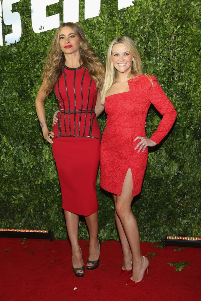 Reese Witherspoon and Sofia Vergara Make One Red-Hot Pair on the Red Carpet