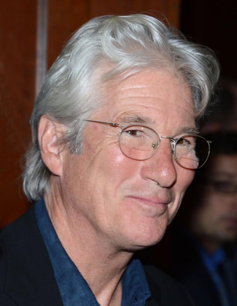 Richard Gere attended the premiere of Argo in NYC.