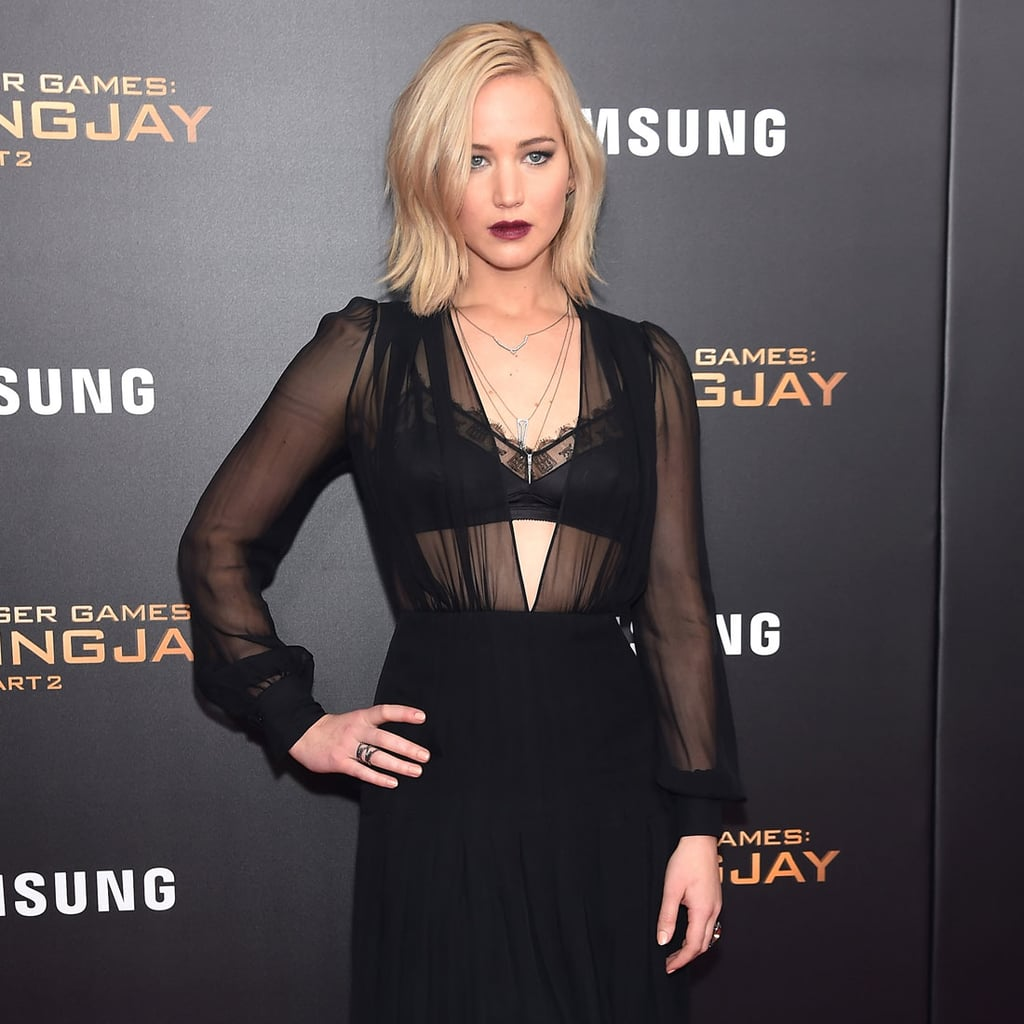Jennifer Lawrence's Dress at Mockingjay 2 NYC Premiere