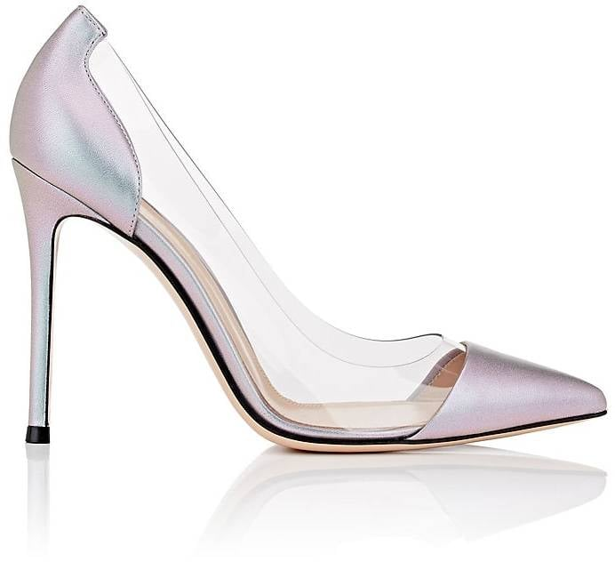 Our Pick: Gianvito Rossi Plexi Leather & PVC Pumps