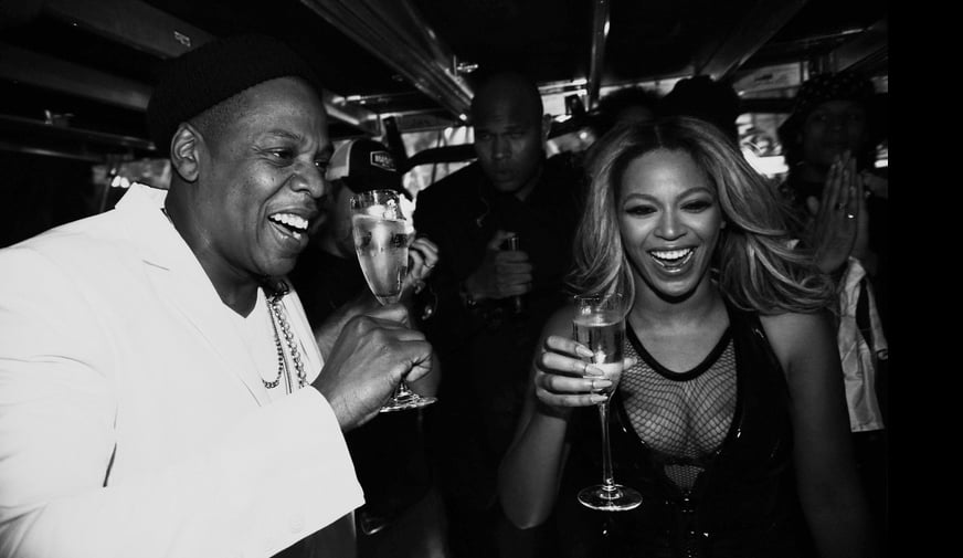 Jay Z Reportedly Raps About Beyonce Being Pregnant