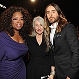 Jared Leto hung out with his mom — and Oprah Winfrey!