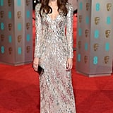Gemma Chan at the 2016 BAFTAs