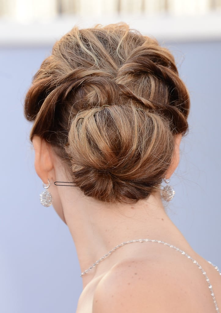 Celebrity Hair Inspiration Modern Updos To Try At Home