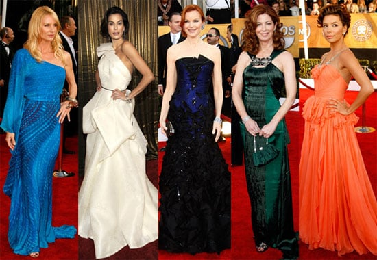 Who Was The Worst Dressed Housewife at the SAG Awards?
