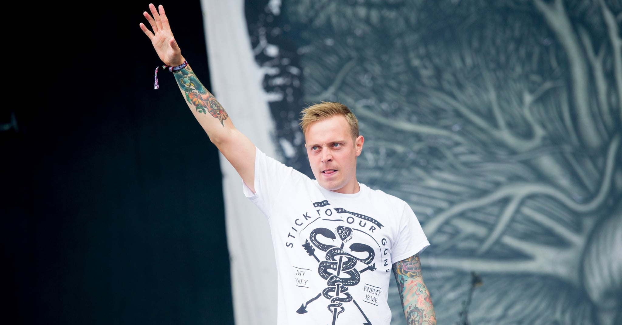 Architects frontman pauses gig to hit out at groper