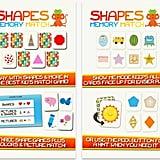 Shapes Memory Match