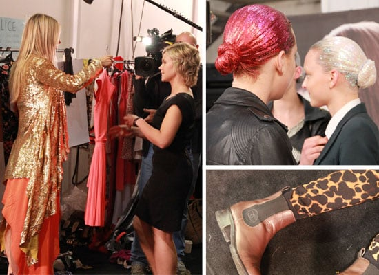 Backstage Pictures from Myer Spring Summer Fashion Show: See Jennifer Hawkins and All the Pre-Show Action!