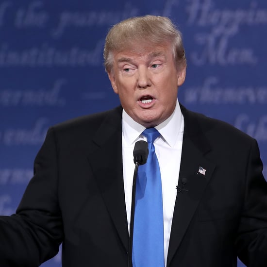 Donald Trump Sniffles During Presidential Debate