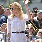 Actress Anna Gunn attended the LA event in support of Bryan Cranston.