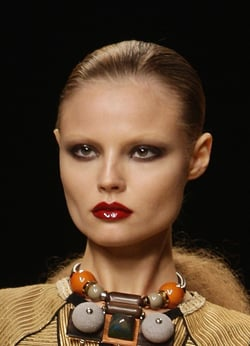 Catwalk Runway Beauty Trend Slicked Back 1920 Masculine Hair at Jean Paul Gaultier, Karl Lagerfeld and Temperley Shows