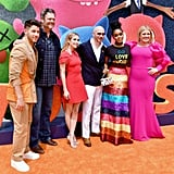 Pictured: Nick Jonas, Blake Shelton, Emma Roberts, Pitbull, Janelle Monáe, and Kelly Clarkson