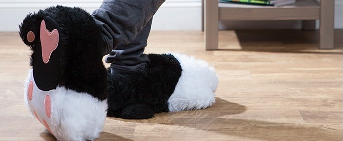 Purring Cat Slippers