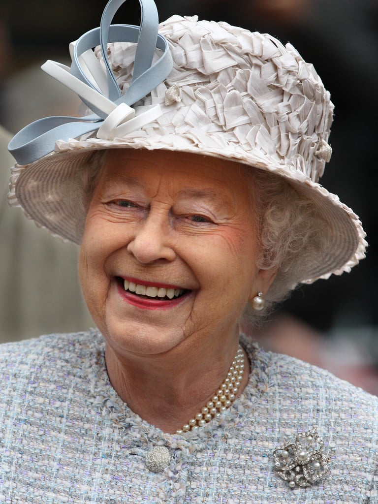 Queen Elizabeth II smiled as she walked through Bromley Town Centre as part of her Diamond Jubilee tour of the country.