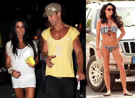 piloto Hermana Favor  Photos of Jordan aka Katie Price in Bikini For Calendar Shoot and With  Model Anthony Lowther on Holiday in Ibiza   POPSUGAR Celebrity UK
