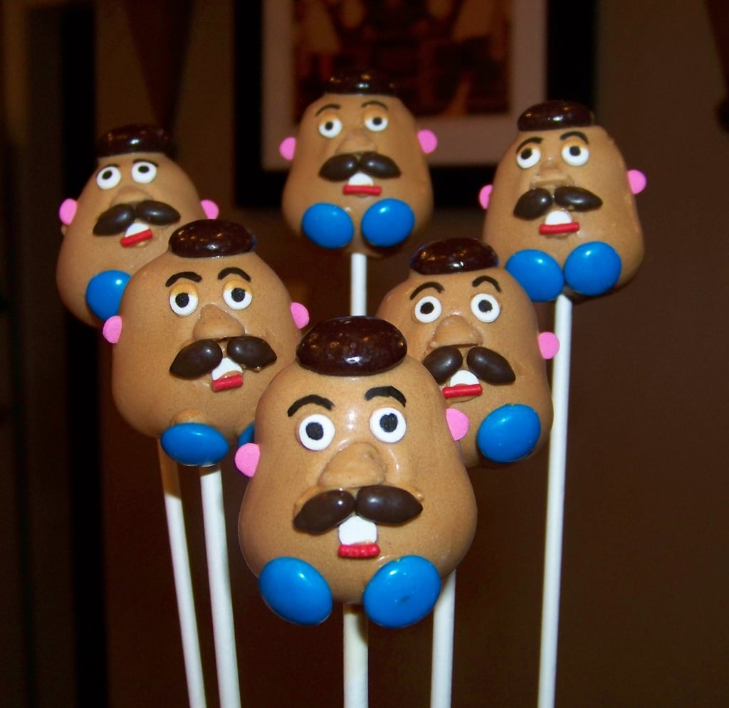 Toy Story Mr. Potato Head Cake Pops