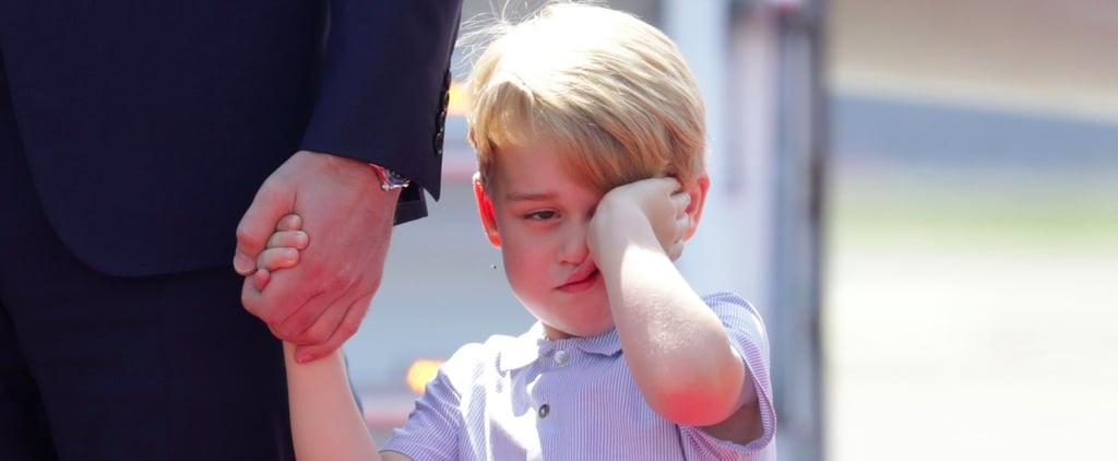 Prince George Is Absolutely Not Having This Royal Tour of Poland and Germany
