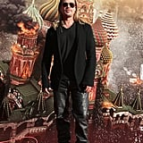 Brad Pitt promoted World War Z at the Moscow International Film Festival in Russia.