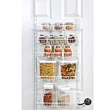 Smart Design Over the Door Adjustable Pantry Organizer Rack