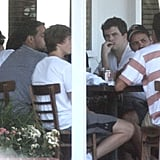 Leonardo DiCaprio lunched at Mauro's in LA.