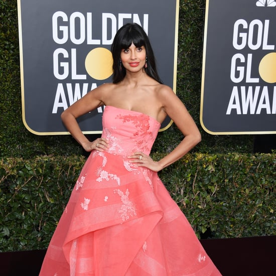E! News Jameela Jamil Name Flub at 2019 Golden Globes