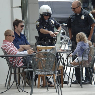Luke Wilson Has Lunch in LA