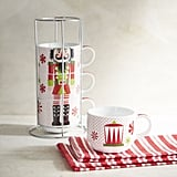 Nutcracker Stackable Coffee Mug Set ($20)