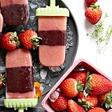 Strawberry Popsicle With Kale and Squash