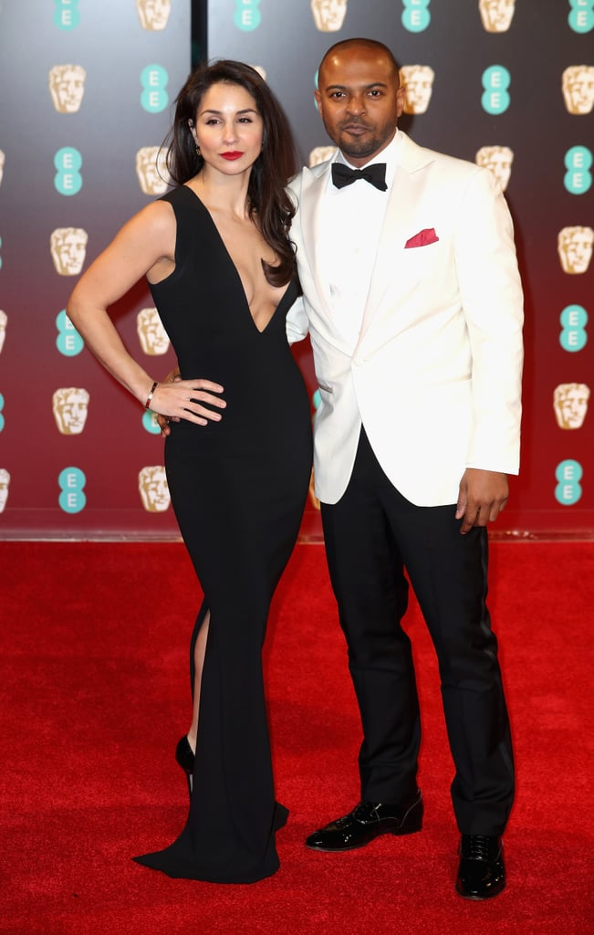 Iris Da Silva And Noel Clarke Celebrity Couples At The