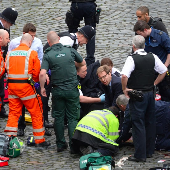 Tobias Ellwood Tries to Save Officer in London Attack