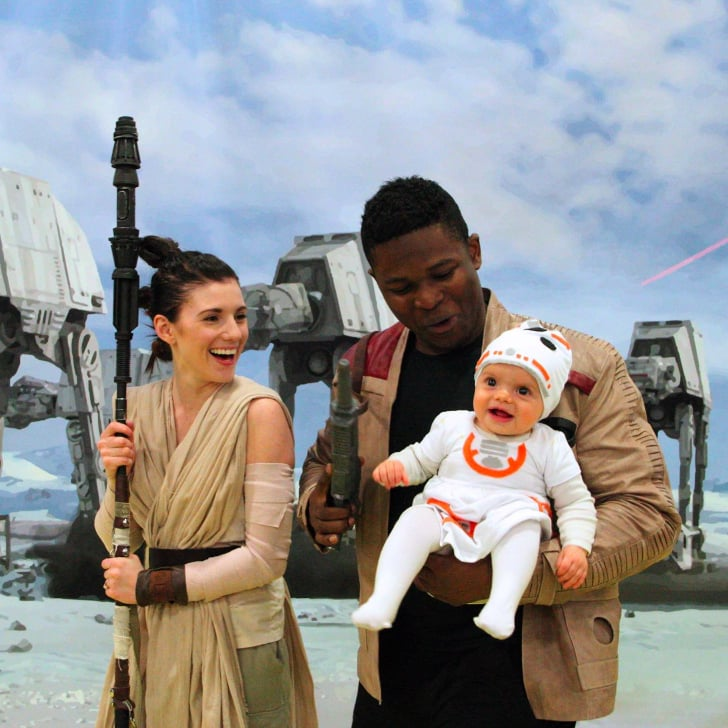 Family Dresses Up As Rey And Finn With Bb 8 Popsugar Tech