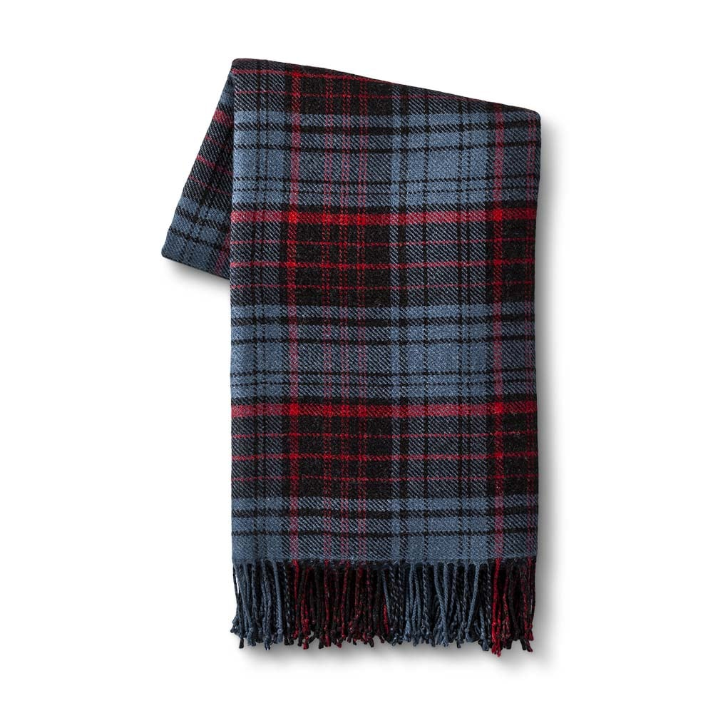 Hearth & Hand with Magnolia Throw Blanket in Holiday Plaid ($30)