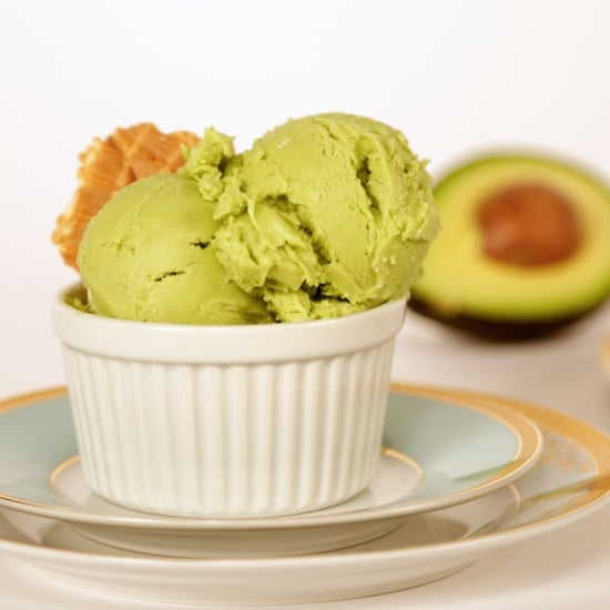 Vegan Avocado Ice Cream