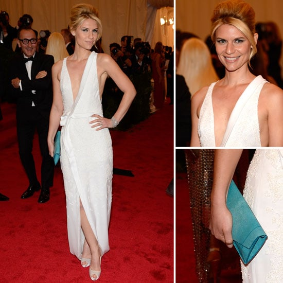 Claire Danes at Met Gala 2012
