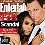 Scandal star Kerry Washington sported some serious smoky eyes on the cover of Entertainment Weekly this week. Source: Instagram user Kerry Washington