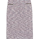 This Girl. by Band of Outsiders bouclé pencil skirt ($350) was made for pairing with your leather jacket for a slick counter.
