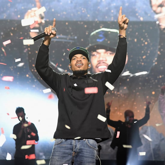 Why Does Chance The Rapper Wear A 3 Hat Popsugar Celebrity