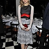 Brie Larson at the Antonio Berardi dinner.