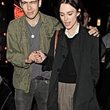 Keira Knightley and James Righton held hands out and about in London.