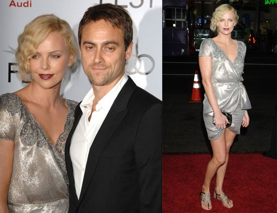 Photos of Charlize Theron, Stuart Townsend and Viggo Mortensen at the Road Premiere