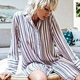 Midnight Bakery Stripe Sleep Shirt