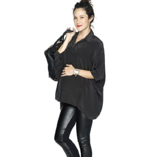 Leather Maternity Pants