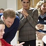 "Prince Harry Encourages an Adorable Group of Kids to ""Give Meghan a Big Hug"""